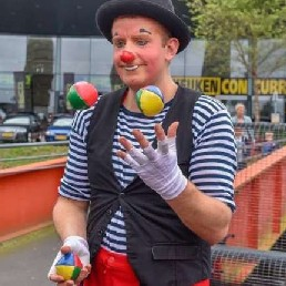 Clown Zuidbroek  (NL) Circus Clown