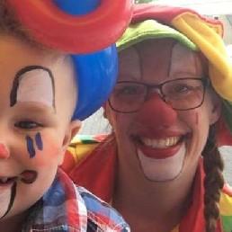 Clown Zuidbroek  (NL) Schmink Clown