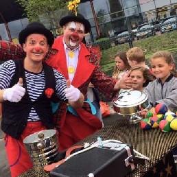 Clown Zuidbroek  (NL) Goochelclown Japie