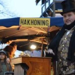 Muzikant overig Zuidbroek  (NL) Dickens Draaiorgel