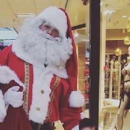 Karakter/Verkleed Zuidbroek  (NL) Kerstman