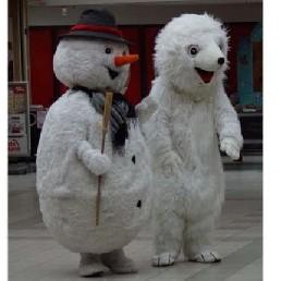 Karakter/Verkleed Zuidbroek  (NL) Bollie de Sneeuwpop