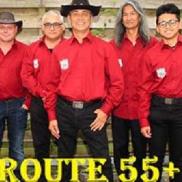 Country Rock-formatie Route 55+