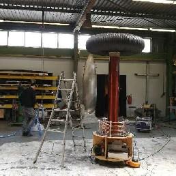 Stunt show Utrecht  (NL) Tesla Coil
