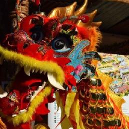 Karakter/Verkleed Utrecht  (NL) Chinese Drakendans