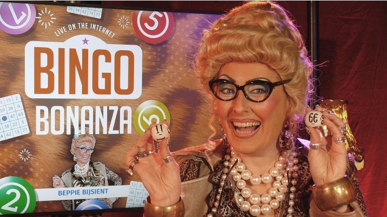 Sports/games Amsterdam  (NL) Beppie Bijsient's Online Bingo Bonanza