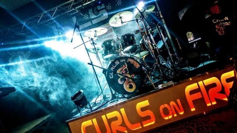 Curls on fire