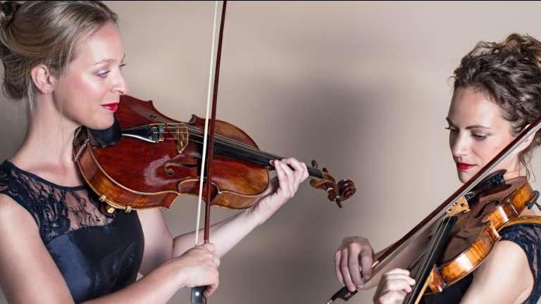 Violinist Voorburg  (NL) Concert String duo Mélange