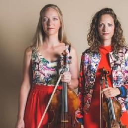 Violist Voorburg  (NL) Concert Strijkduo Mélange