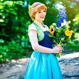 Character/Mascott Assen  (NL) Prinses Anna op uw evenement