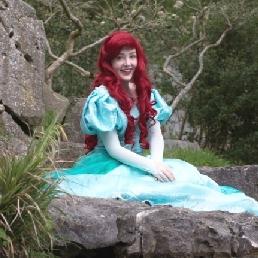 Character/Mascott Assen  (NL) Prinses Ariel op uw evenement