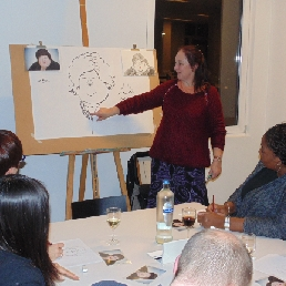 Kunstenaar Lille  (BE) Workshop karikatuur- of striptekenen