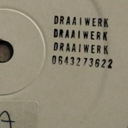 DRAAIWERK draait dat vinyl