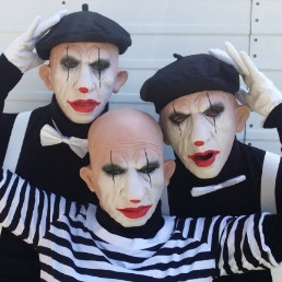 Cabaret Doetinchem  (NL) Horror Clowns (trio) / Straattheater