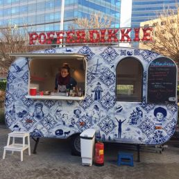Poffertjes food truck