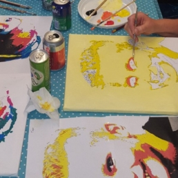Trainer/Workshop Amersfoort  (NL) Pop Art Workshop