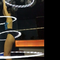 Acrobaat Rotterdam  (NL) Circus Act - LED / Hula Hoop