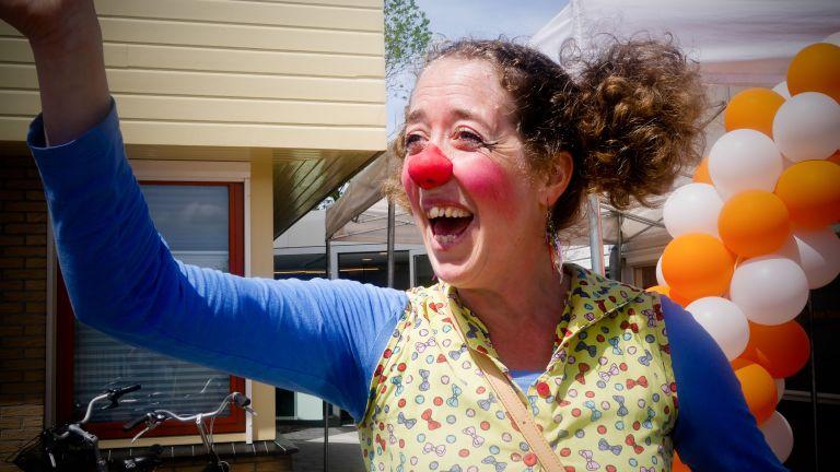 Clown Miepie ballonnetjes