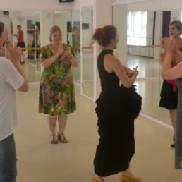 Flamenco dans workshop