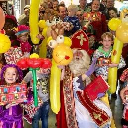 Kindervoorstelling Alkmaar  (NL) Sinterklaasfeest met Clown Niekie