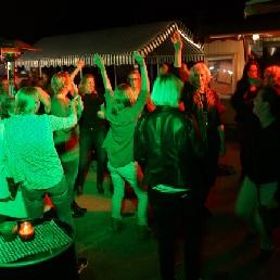 Drive-in show Nieuw Vennep  (NL) Stoep-feest