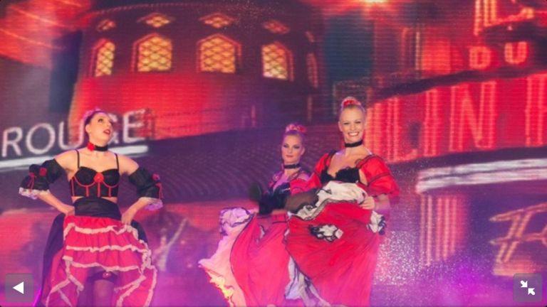 Fa Fa International Showdancers - Moulin Rouge
