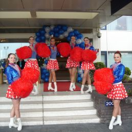 Thema Hostesses / Cheerleaders -Pompom Girls