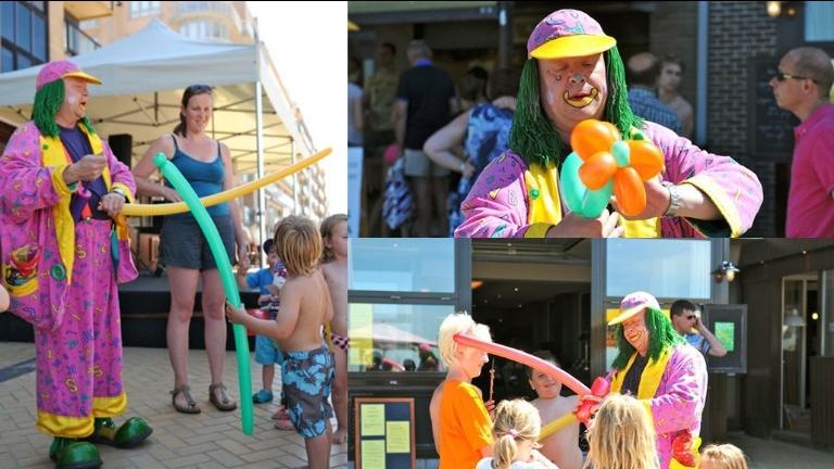 Clown Lollebol Verjaardagsshow