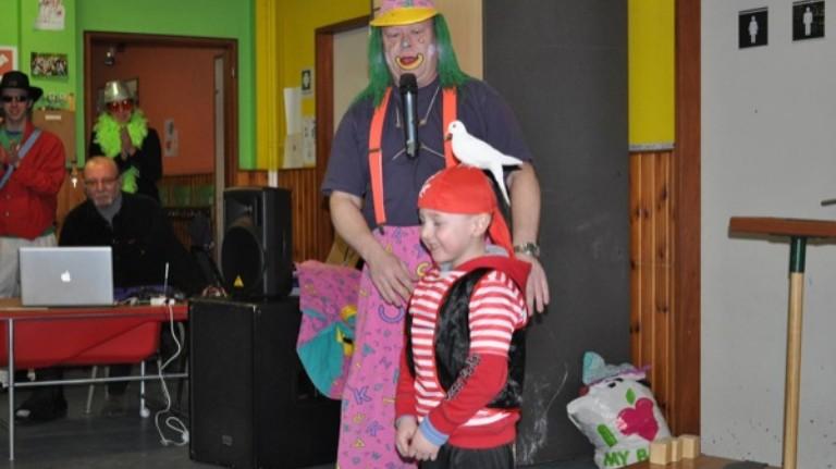 Clown Lollebol Kerst Show