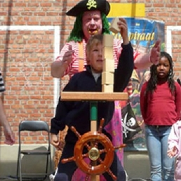 Kindervoorstelling Wetteren  (BE) Piratenshow Ship Ahoy!
