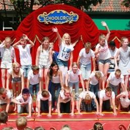 Kids show Apeldoorn  (NL) Circus project: circus day