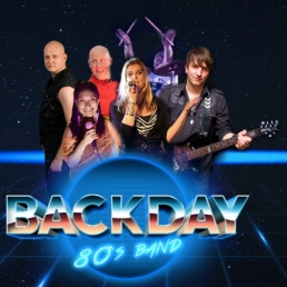 Band Genk  (BE) Backday (80's band)