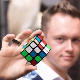 Tafel Goochelaar Evert van Asselt
