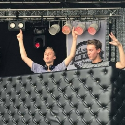 Drive-in show Hoogvliet  (NL) Daniel Codec & Steven Cage