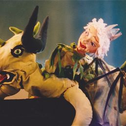 Kids show Amsterdam  (NL) The fairy tale of Rosa and the dragon