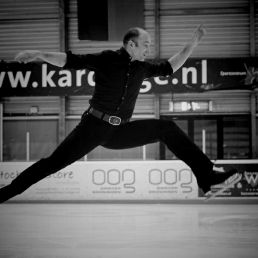 Marco Bonisimo on ice