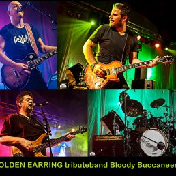 GOLDEN EARRING tributeband Bloody Buccaneers