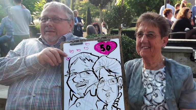 Artist Leuven  (BE) Caricaturist Marín