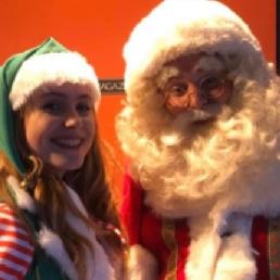 Character/Mascott Halsteren  (NL) Santa Claus