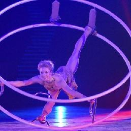 Acrobat Zaandam  (NL) Wheel Acrobatics - Solo Show