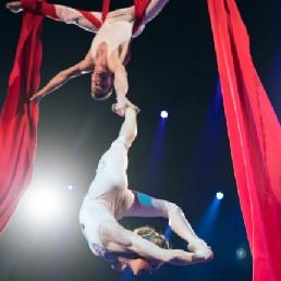 Acrobat Zaandam  (NL) Aerial acrobatics Aerial Silks - Duo Show