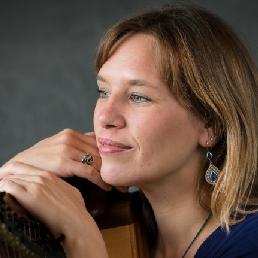 Harpist Zutphen  (NL) Daniëlle Uriël Harp en zang