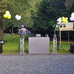 Drive-in show Utrecht  (NL) DJBram Luxe DJ show