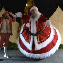 Actor Lede  (BE) Wobbeling Santa
