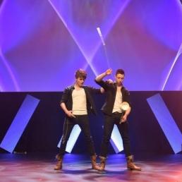Jongleur Amsterdam  (NL) Twin Spin - Show Royale
