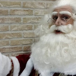 Character/Mascott Grote-Brogel  (BE) Santa meet and greet