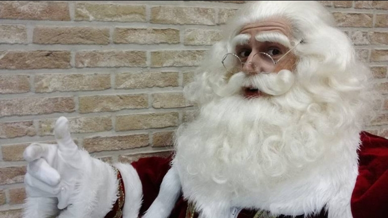 Kerstman meet and greet