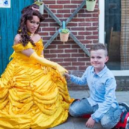 Karakter/Verkleed Deux-Acren  (BE) Disney prinses