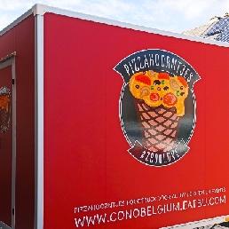 Pizza cones Foodtruck