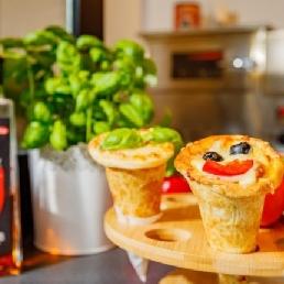 Food truck Mechelen  (BE) Pizza cones Foodtruck